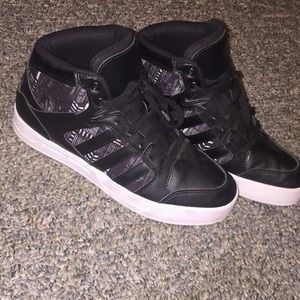 Black Adidas Neo Label High Top Sneakers